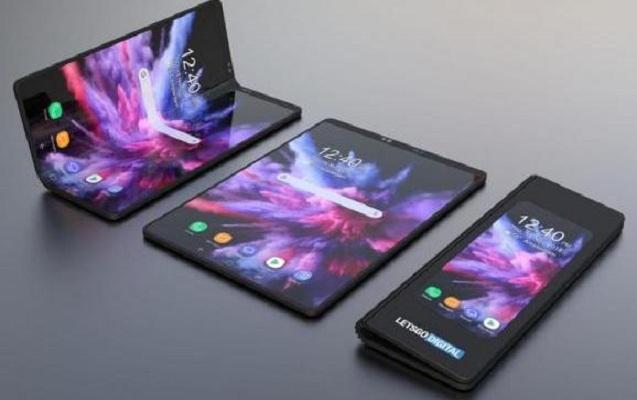 """Əyilə bilən ilk """"Samsung"""" smartfonunun görüntüləri yayıldı"""