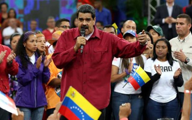 Maduro müxalifəti dialoqa çağırdı