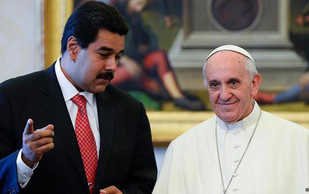 Maduro Papaya məktub yazıb kömək istədi