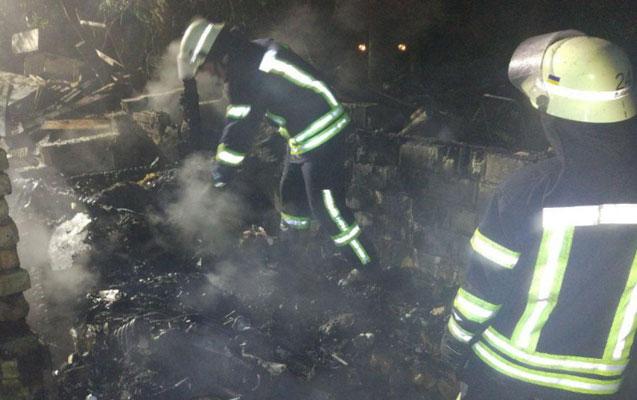 Bakıda 84 yaşlı kişi evində yanaraq öldü