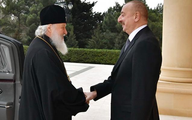 İlham Əliyev bütün Rusiyanın Patriarxı ilə görüşüb