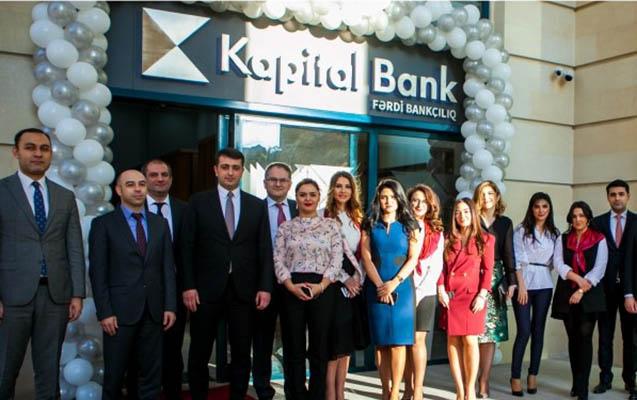 Kapital Bank Fərdi Bankçılıq bölməsini istifadəyə verdi