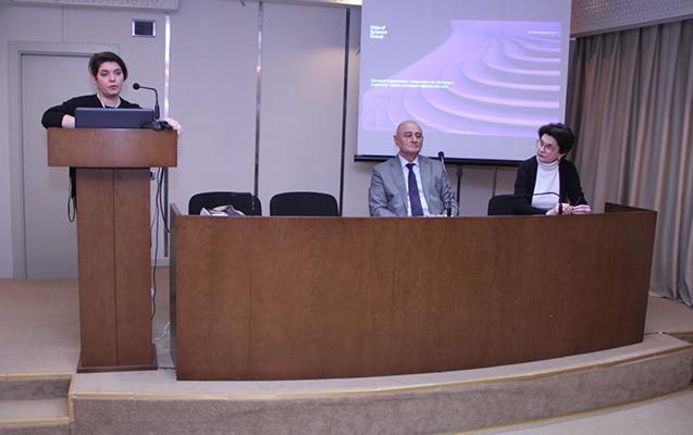"""""""Clarivate Analytics""""in əməkdaşı AzMİU-da seminar keçib"""