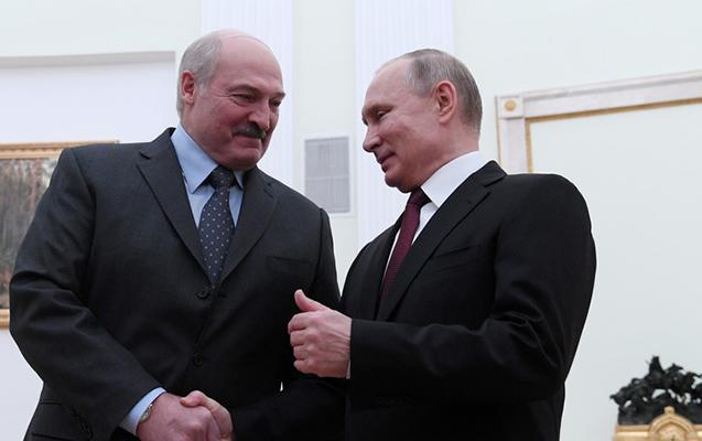 Putinlə Lukaşenkonun qeyri-formal görüşü olacaq