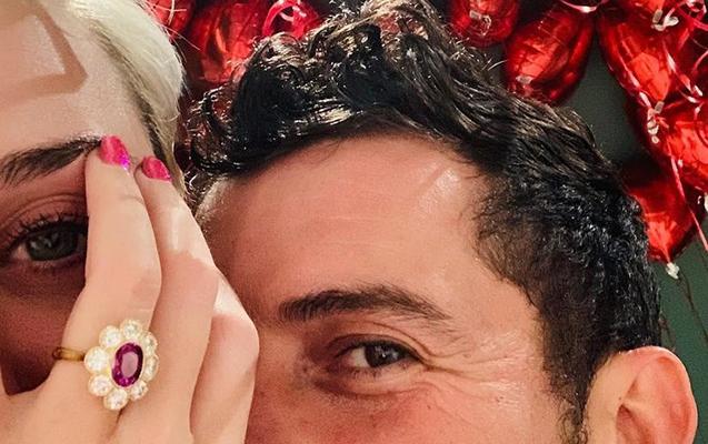 Orlando Blumla Keti Perri nişanlandı