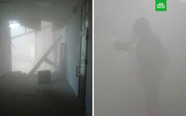 Rusiyada universitet binası uçdu