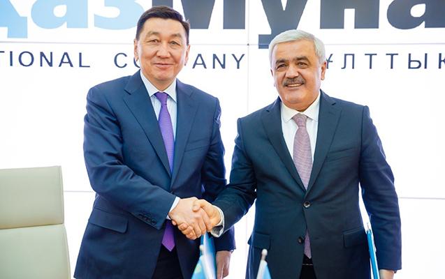 "Astanada SOCAR-la ""KazMunayQaz"" arasında memorandum imzalanıb"