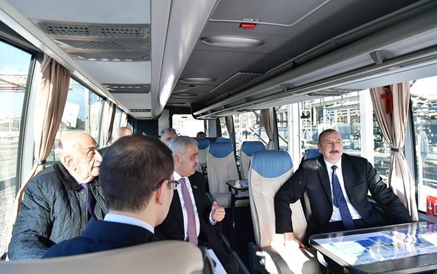 İlham Əliyev Sumqayıtda zavod açılışında