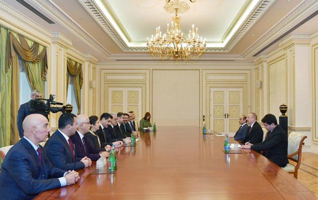 Prezident Şamil Ayrımla görüşdü