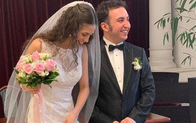 Azərbaycanlı musiqiçi əcnəbi qızla evləndi