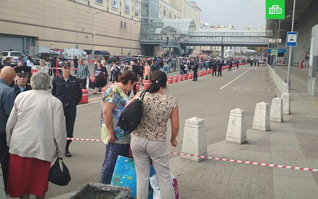 Moskvada mina təhlükəsinə görə 9 min nəfər təxliyyə olundu