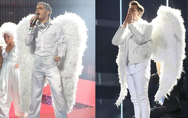 """""""Eurovision""""da mələk qalmaqalı - Elnurdan oğurlanıb"""
