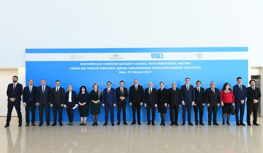 """Nazirlər Bakıda toplantıda: Prezident İlham Əliyev çıxış etdi: """"Bu, bizim üçün prioritetdir"""" + Fotolar"""