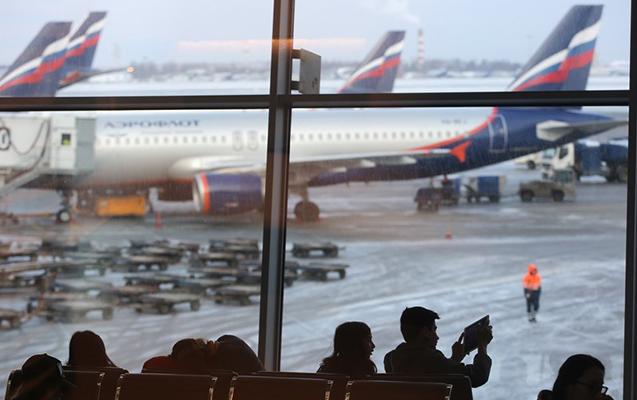 Moskva aeroportlarında 30-dan çox reys gecikir