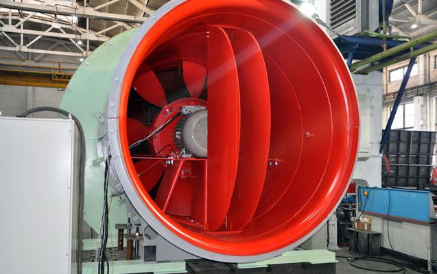 Metroya yeni ventilyatorlar gətirilir
