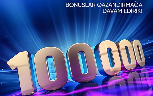 """""""Bank Respublika""""nın müştəriləri 100 000 manatdan çox bonus qazanıb!"""