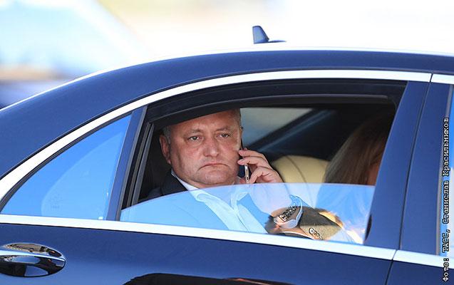 Moldova prezidenti yenə qəzaya düşdü