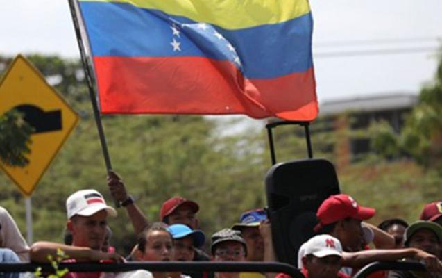 Venesuela Kolumbiya ilə də sərhədi bağladı