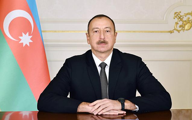 Prezident latviyalı həmkarını təbrik etdi
