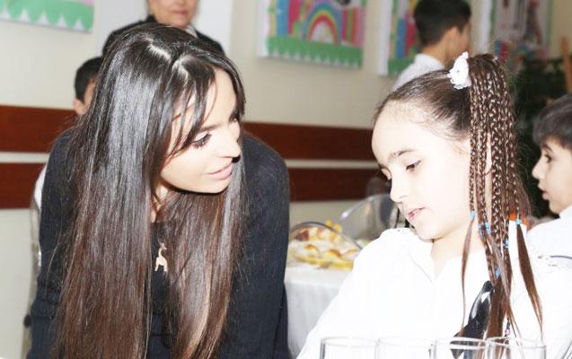Leyla Əliyeva uşaq evində - Fotolar