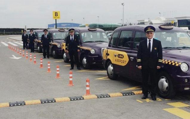 """Hava limanında """"Bakı Taksi Xidməti"""" fəaliyyətə başladı"""
