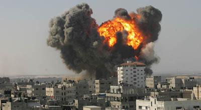 İsrail ordusu Qəzzaya hava zərbələri endirdi