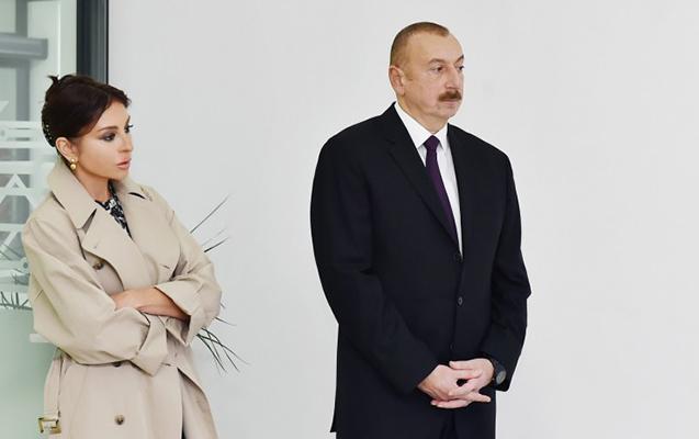 Prezident xanımı ilə Şamaxıda