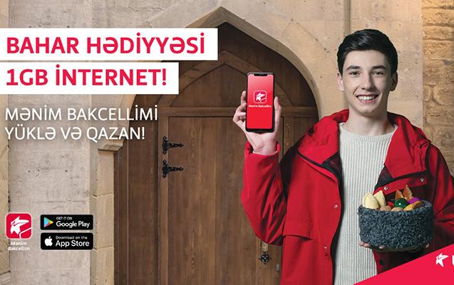 """Bakcell abunəçilərinə bayram sovqatı – PULSUZ 4G Internet"""""""
