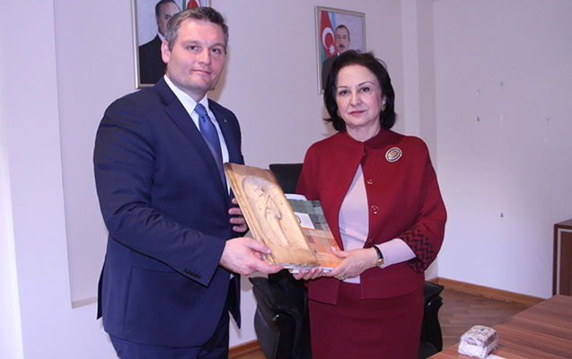 Koşitse Texniki Universitetinin nümayəndələri AzMİU-da