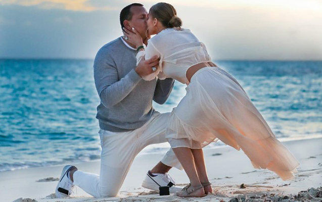 Aleks Lopezə belə evlilik təklifi etdi