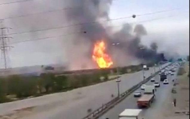 İranda qaz-boru kəmərində partlayış