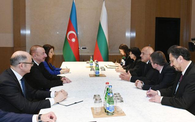 Prezident Borisovla görüşdü