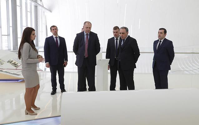 Belarus İstintaq Komitəsinin nümayəndə heyəti ölkəmizdə səfərdədir