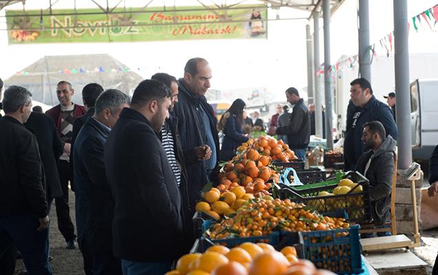 Lənkəranda Novruz yarmarkası davam edir