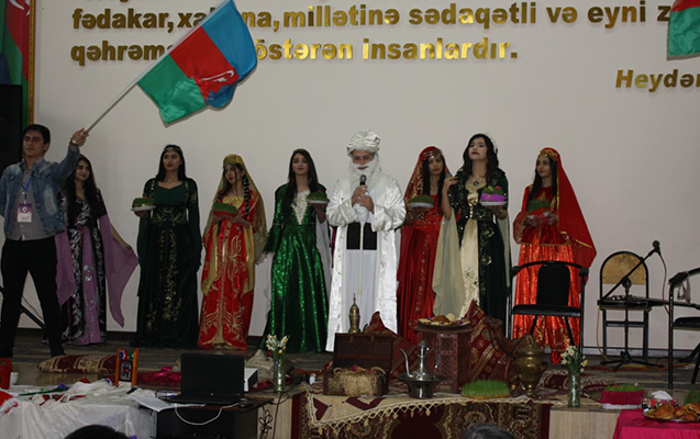 Bakı Avrasiya Universitetində Novruz şənliyi keçirilib
