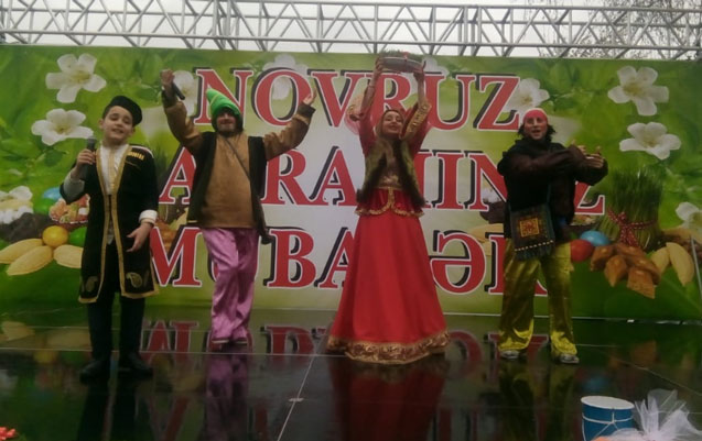 Xətai rayonunda Novruz şənliyi keçirilib