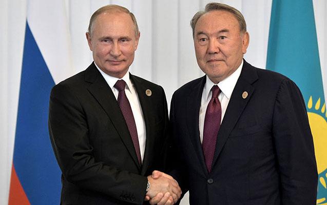 Putin istefadan qabaq Nazarbayevlə danışıb