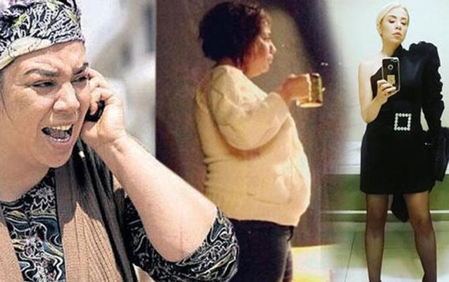 58 kiloqram arıqlayan aktrisa tanınmaz halda