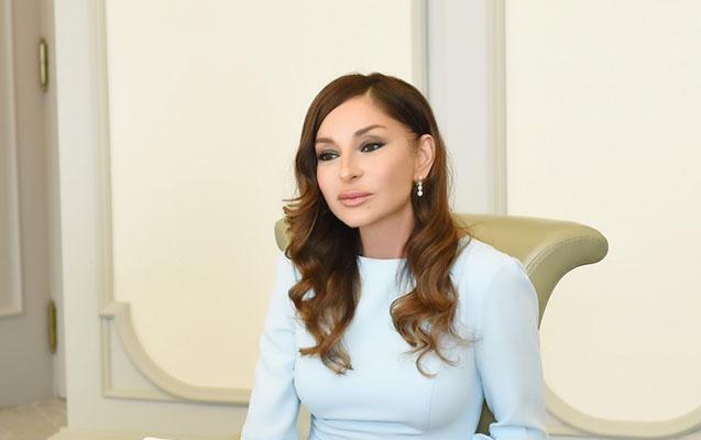 """""""Sizin sevginiz ən böyük ilham mənbəyimizdir"""" - Mehriban Əliyeva"""