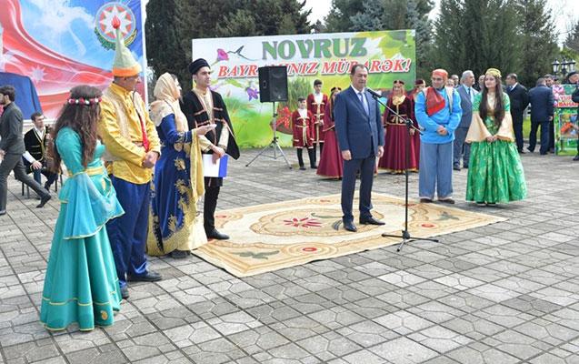 Lənkəranda möhtəşəm Novruz şənliyi