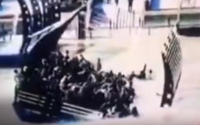 100 nəfərin öldüyü hadisənin görüntüsü yayıldı