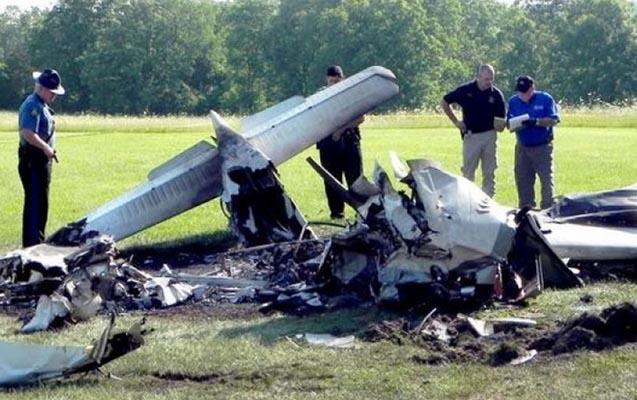 Təyyarə qəzasında hər iki pilot öldü