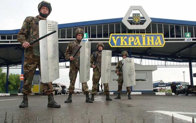 Ukrayna Rusiya ilə sərhəddə təhlükəsizliyi gücləndirdi