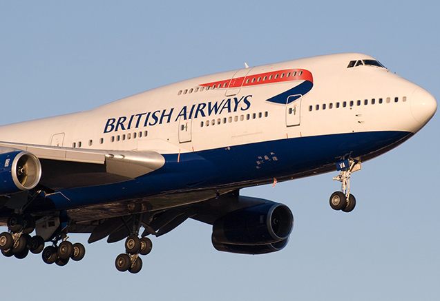 """British Airways""in təyyarəsi yanlış ölkəyə uçub"