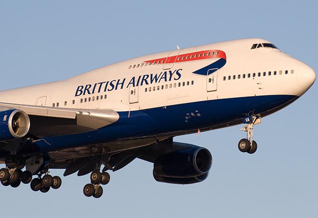 """""""British Airways""""in təyyarəsi yanlış ölkəyə uçub"""