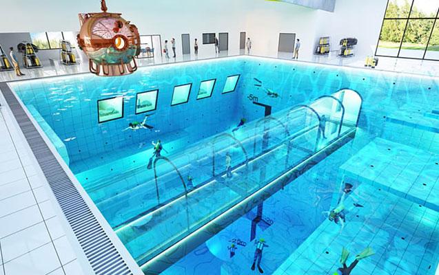 Polşada dünyanın ən dərin hovuzu açılacaq