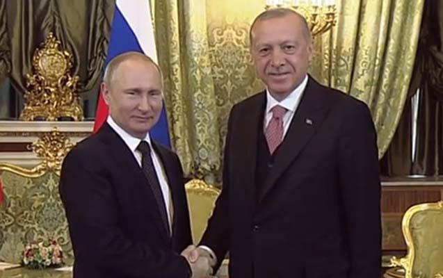 Ərdoğanla Putin Moskvada görüşdü - Yenilənir