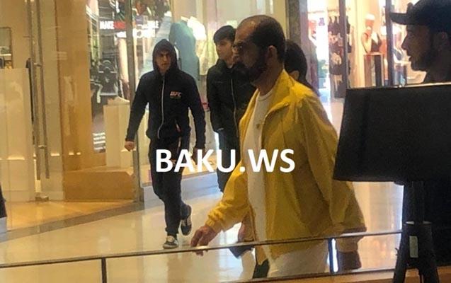 """Ərəb şeyxi """"Gənclik Mall""""da alış-veriş edib"""