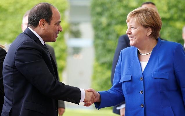 Sisi Merkellə Liviya və Sudanı müzakirə etdi