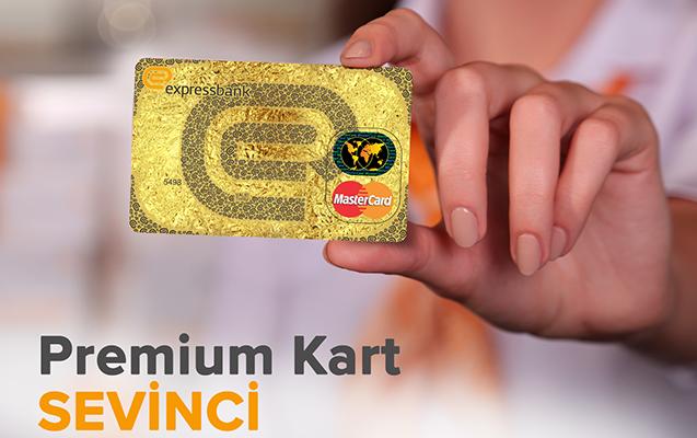 """""""Expressbank""""dan müştərilərə premium kart sevinci"""